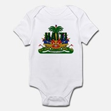 Haitian Coat of Arms Infant Bodysuit