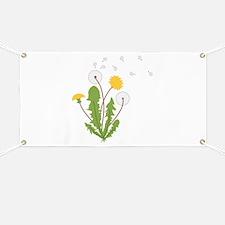Dandelion Banner