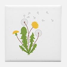 Dandelion Tile Coaster