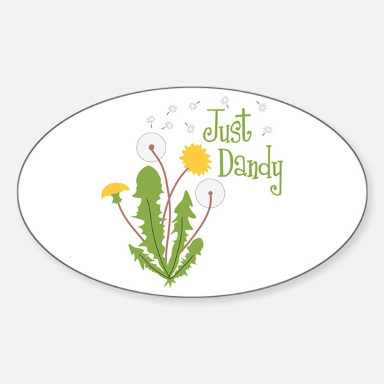 Just Dandy Decal