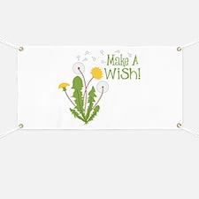 Make A Wish! Banner