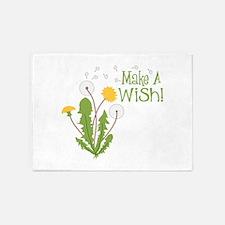 Make A Wish! 5'x7'Area Rug