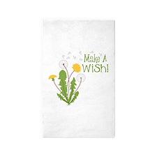 Make A Wish! 3'x5' Area Rug