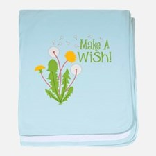 Make A Wish! baby blanket