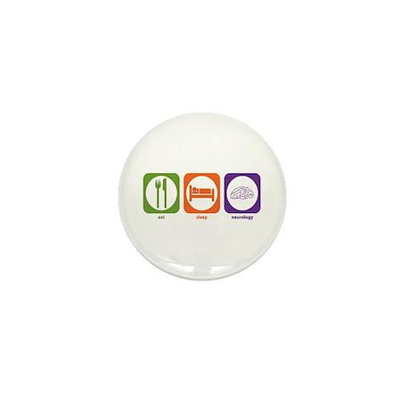 Eat Sleep Neurology Mini Button (10 pack)