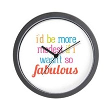 Modest Fabulous Wall Clock