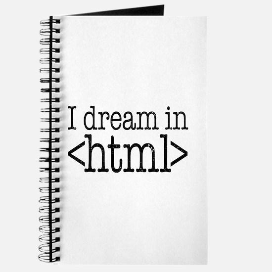 Dream in HTML Journal