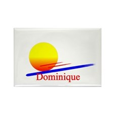 Dominique Rectangle Magnet