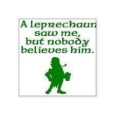 A Leprechaun Saw Me Sticker