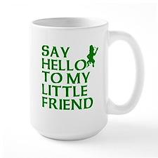 Say Hello To My Little Friend Leprechaun Mugs