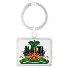 Haitian Coat Of Arms Keychains