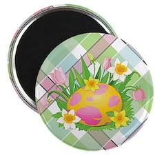 "EASTER PLAID 2.25"" Magnet (10 pack)"