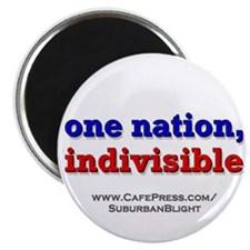 One Nation Indivisible Magnets