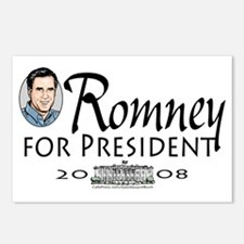 Romney White House Postcards (Package of 8)
