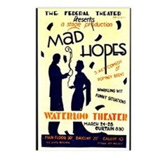 Vintage - Federal Theater Postcards (Package of 8)