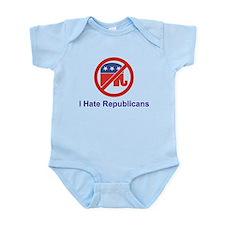 I Hate Republicans Infant Creeper