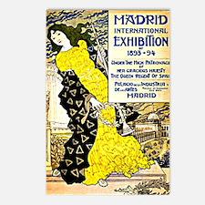Vintage 1893-94 Madrid In Postcards (Package of 8)