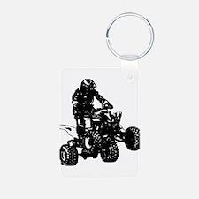 atv blck Keychains