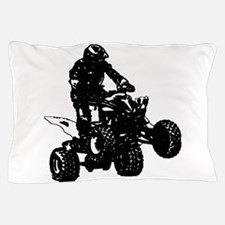 atv blck Pillow Case