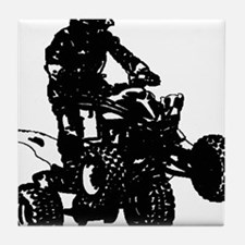 atv blck Tile Coaster