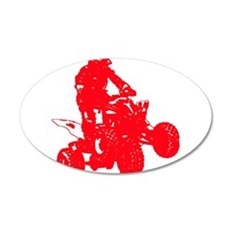 atvred Wall Decal
