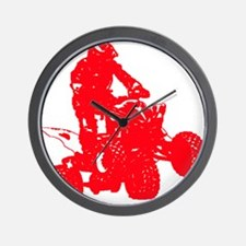 atvred Wall Clock