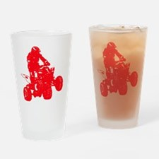 atvred Drinking Glass