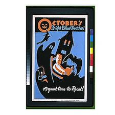 Vintage - October's Brigh Postcards (Package of 8)
