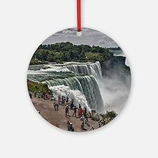 Niagara Falls 3 Ornament (Round)