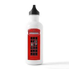 British Phone Box Sports Water Bottle