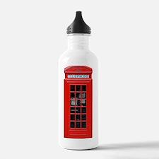 British Phone Box Water Bottle