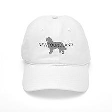 Newfoundland Dog Baseball Cap