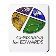 Christians for Edwards Mousepad