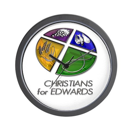 Christians for Edwards Wall Clock