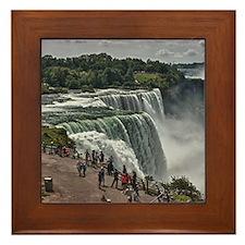 Niagara Falls 3 Framed Tile