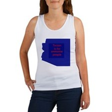 Awesome Tucson Women's Tank Top