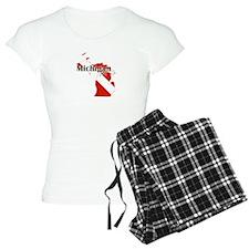 Michigan Diver Pajamas