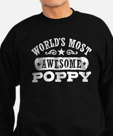 World's Most Awesome Poppy Sweatshirt