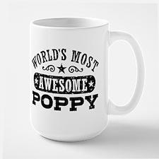 World's Most Awesome Poppy Mug