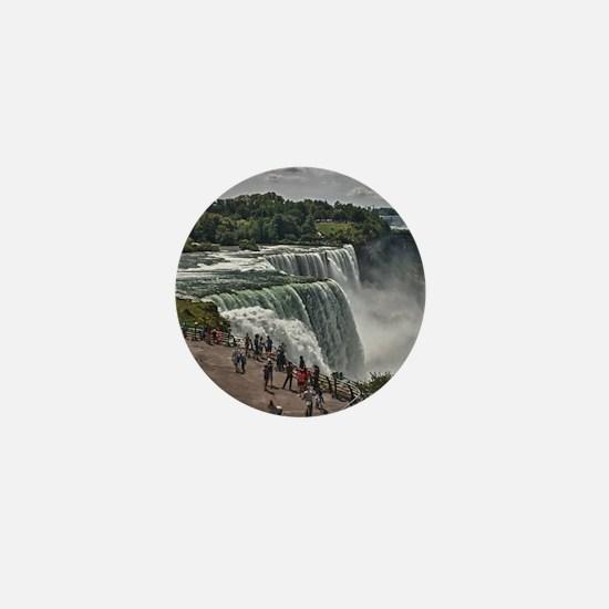 Niagara Falls 3 Mini Button