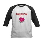 Crazy For You 3 Baseball Jersey