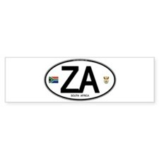 za-oval-2 Bumper Bumper Sticker