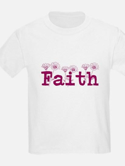 Purple Faith Name T-Shirt