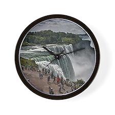 Niagara Falls 3 Wall Clock