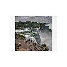 Niagara Falls 3 5'x7'Area Rug