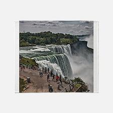 Niagara Falls 3 Throw Blanket
