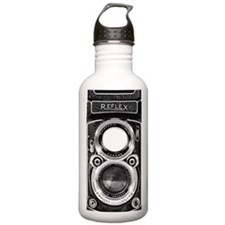 Vintage Camera Water Bottle