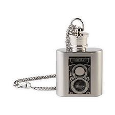 Vintage Camera Flask Necklace
