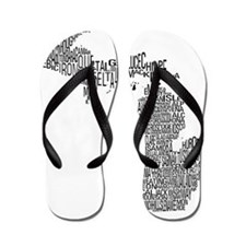 Michigan County Map Flip Flops