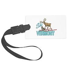 Ski Vermont Luggage Tag